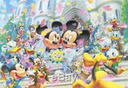 Disney Jigsaw Puzzle D-1000-331 Mickey Mouse Wedding (1000 Pieces)