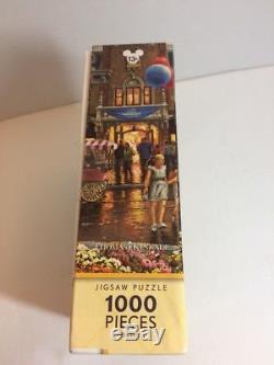 Disney Parks Thomas Kinkade Disneyland 60th Anniversary 1000 piece Jigsaw Puzzle