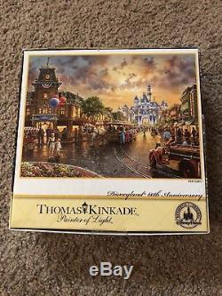 Disneyland 60th Anniversary Thomas Kinkade Disney Parks 1000 Piece Puzzle NEW