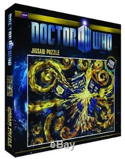 Doctor Who Exploding Tardis 1000 Piece Jigsaw Puzzle