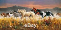 Donnernde Pferdeherde Clementoni 13200 Teile Puzzle 38006 NEU + OVP