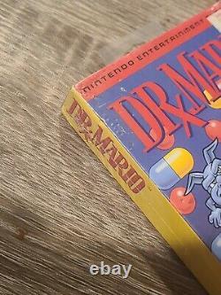 Dr. MARIO NES NINTENDO VIDEO GAME BRAND NEW FACTORY SEALED H SEAM WEAR