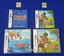 Ds ZELDA Phantom Hourglass + Spirit Tracks Legend Of Zelda REGION FREE PAL