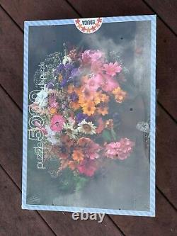EDUCA 5000 Piece Puzzle 7982 SUMMER FLOWERS 157x107cm Sealed HTF