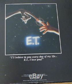 E. T. EXTRA TERRESTRIAL ET movie JIGSAW PUZZLE vintage 1982 universal studios