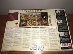 Educa 10000 Piece Puzzle The Garden Of Earthly Delights Hieronymus Bosch NEW NIB