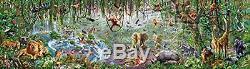 Educa 16066 Wild Life Puzzle, 33600 Pieces 2X-Large, Multi-Coloured