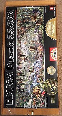 Educa 33,600 Piece Wildlife Puzzle