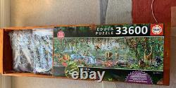 Educa Wildlife XXL Jigsaw Puzzle 33,600 Pieces Wooden Box Rare