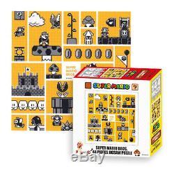 Ensky Nintendo Super Mario Bros 30th Anniversary Orange Mario Bros Jigsaw Puzzle