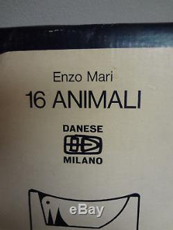 Enzo Mari, 16 Animals Puzzle (scarce), Danese Milano, Made In Italy, Nice