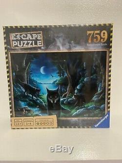 Escape Puzzle- The Curse Of The Wolves- 759 Piece Puzzle by Ravensburger