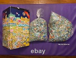 Extremely RARE HEYE 8000 Jigsaw Puzzle BERLIN by Michael RYBA #25785