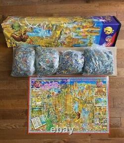 Extremely RARE HEYE 8000 jigsaw puzzle NEW YORK by Michael RYBA