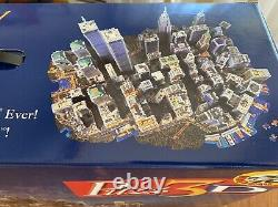 FACTORY SEALED Puzz 3D New York New York City WREBBIT 3141 Puzzle Twin Towers