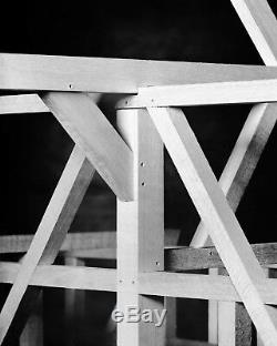 Fachwerk Puzzle Design Holzbaukasten Geschenk Zimmermann Manufactum NEU