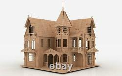 Fantasy Mansion Easy-to-assemble Original 3D Puzzle House Kit