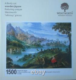 Flight into Egypt 1500 Pieces Wentworth Wooden Jigsaw Puzzle