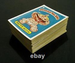 GARBAGE PAIL KIDS 1985 2nd Series Complete JOEL/MIKE Schizo GLOSSY Set 84 VG OS2