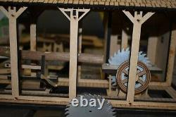 G-SCALE LASER CUT SAWMILL with Steam Donkey Puzzle by Doc's Garden Trains