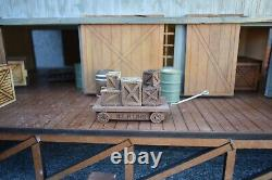 G-SCALE LASER CUT WAREHOUSE Puzzle by Doc's Garden Trains