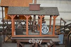 G-scale Laser Cut Logging Crane & Steam Donkey Puzzle By Doc's Garden Trains