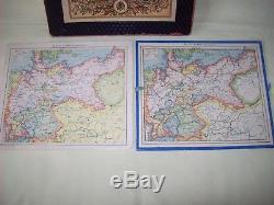 Georaphisches Geduldspiel Puzzle ca. 1890 Otto Maier Ravensburg