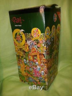 HEYE Puzzle MICHAEL RYBA 2000 Piece Robin Hood-all pieces present