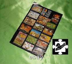HEYE Puzzle SCIENCE FICTION J J LOUP 1000 Teile komplett 8726 v 1974 jigsaw rar