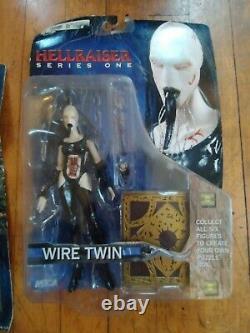 Hellraiser Series 1 NECA Action Figures FULL SET (2003) Puzzle Box