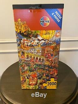 Heye Jabo Casanova 2000 pc. Puzzle