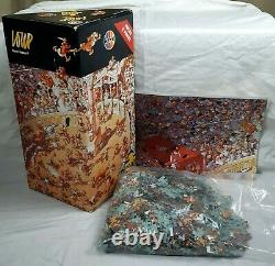 Heye Loup 2000 Piece Jigsaw Puzzle Ave Caesar! Sealed includes Poster