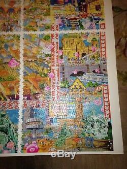 Heye Puzzle Berlin Michael Ryba Rare 8000 Piece Jigsaw