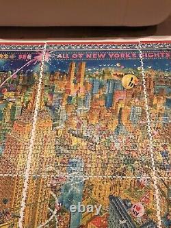 Heye puzzle New York Michael Ryba Rare 8000 Piece Jigsaw from 2000