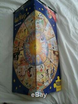 Hugo Prades Astro World 4000 Piece Puzzle & Poster RARE
