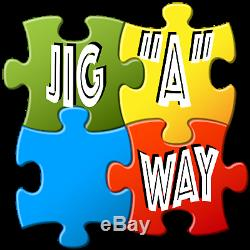 JIGAWAY is The Jigsaw Puzzles Companion Accessory. All in One COMPLETE Solution