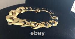 James Avery 14K EPIC Puzzle Link Bracelet! OVER 56G! Heaviest JA on eBay