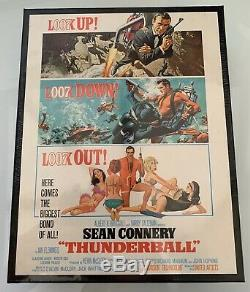 James Bond Thunderball Wooden Jigsaw Puzzle Ltd Edition Of Only 100 sets