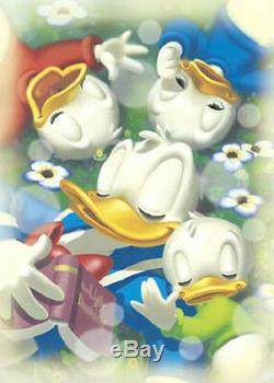 Japan Jigsaw Puzzle Tenyo Disney Characters Sleeping Donald Duck D-500-376