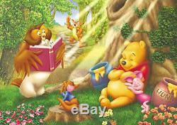 Japan Jigsaw Puzzle Tenyo Disney Winnie the Pooh Piglet Hunny Friends D-300-294
