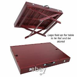 Jigitz Jigsaw Puzzle Tables with Legs 35x26in Tilted Puzzle Board Portable
