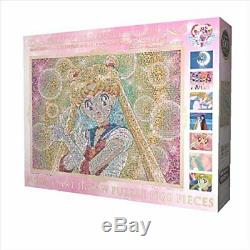 Jigsaw Puzzle 1000 Piece Sailor Moon Mosaic Art 51 x 73.5 cm 1000 T 43