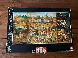 Jigsaw Puzzle 9000 Pieces EDUCA The Garden of Earthly Delights Bosch #14831