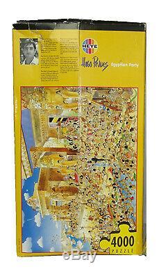 Jigsaw Puzzle Egyptian Party 4000 Piece by Hugo Prades