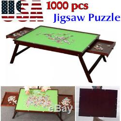 Jigsaw Puzzle Hobby Surface Collapsible 1000pcs Mat Storage Wooden Folding Table