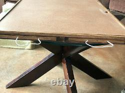 Jigsaw puzzle board / puzzle table with removable lid and 4 drawers for storage