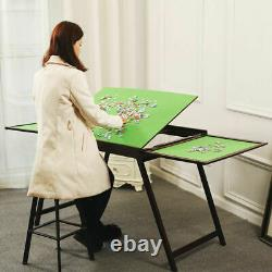 Jigsaw puzzle table storage folding tilting table 1000 1500 pcs mat board plate