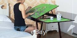 Jigsaw puzzle table storage folding tilting table 1500 pcs mat PTTFT
