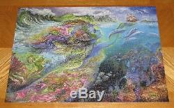 Josephine Wall Art Spirit Of the Ocean 1500 Piece Puzzle Assembled