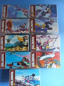 Jouet des années 1980 Série complète des 9 minis puzzle GOLDORAK TOEI 1978